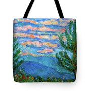 Cloud Color Tote Bag