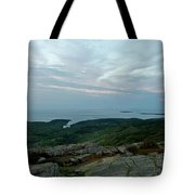 Cloud Covered Sunrise Tote Bag