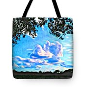 Cloud Creative Tote Bag