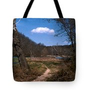 Cloud Destination Tote Bag