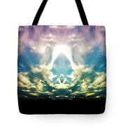 Cloud Face Color Tote Bag