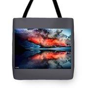 Cloud Fantasia Reflected L A S Tote Bag