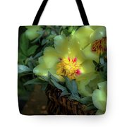 Cloud Flowers Tote Bag