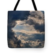Cloud Formations Boiling Up Tote Bag