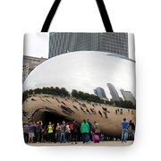 Cloud Gate Chicago Color 4 Tote Bag