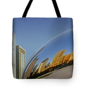 Cloud Gate - Reflection - Chicago Tote Bag