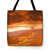 Cloud Light Tote Bag