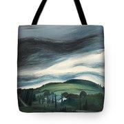 Black Cloud Tote Bag