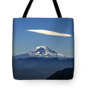 Cloud Over Adams Tote Bag