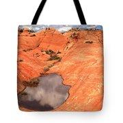 Cloud Pocket Tote Bag
