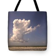 Cloud Points The Way Tote Bag