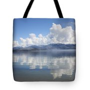 Cloud Reflection On Priest Lake Tote Bag