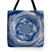 Cloud Spiral Tote Bag
