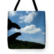 Cloud Squeeze Tote Bag