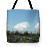 Cloud Trio And Dunes - Huntington Beach Sc Tote Bag