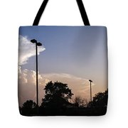 Cloud Wars Tote Bag