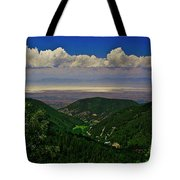 Cloudcroft Canyon View Tote Bag