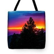 Cloudcroft Sunset Tote Bag