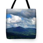 Clouded Landscape Tote Bag
