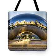 Cloudgate In Chicago Tote Bag