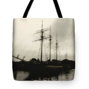 Clouding Up Tote Bag