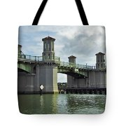 Clouds Above The Bridge Of Lions Tote Bag