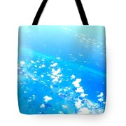 Clouds Above The Florida Keys Tote Bag