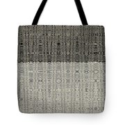 Clouds Abstract Fabric Design Tote Bag