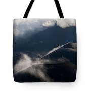 Clouds And Cinder Cones Tote Bag