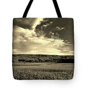 Clouds And Cornfields Tote Bag