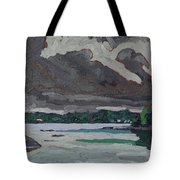 Clouds And Drizzle Tote Bag