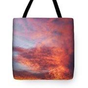 Clouds At Dawn Tote Bag