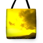 Clouds At Sunset Over Basseterre Tote Bag