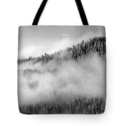 Clouds At The Ridge  Tote Bag