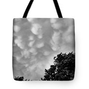 Clouds Before The Storm Tote Bag