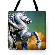 Clouds By Pegasus Tote Bag
