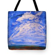 Clouds Dance Tote Bag