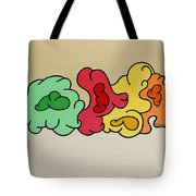 Clouds Drifting By Tote Bag