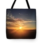 Clouds During Sunset Tote Bag