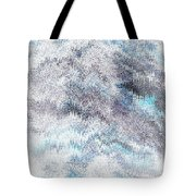 Clouds Filled With Snow Tote Bag