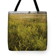 Clouds Hang Over The Rio Grande River Tote Bag