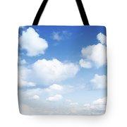 Clouds In Blue Sky Tote Bag