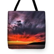 Clouds In Motion Before The Storm Tote Bag