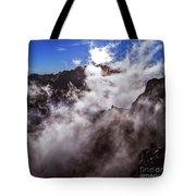 Clouds In The Caldera De Taburiente Tote Bag