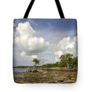 Clouds In The Keys 2 Tote Bag