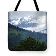 Clouds In The Rockies Tote Bag