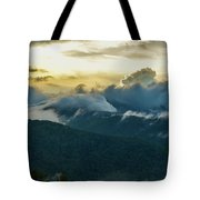 Clouds In The Smoky's Tote Bag
