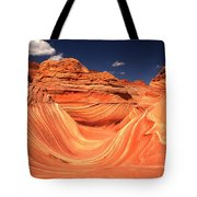Clouds Kissing The Wave Tote Bag