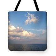 Clouds Meet Ocean Tote Bag