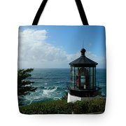 Clouds Moving In Tote Bag